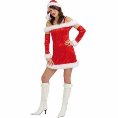Complete kerst verkleedkleding voor dames