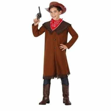 Cowboy john verkleed verkleedkleding voor jongens