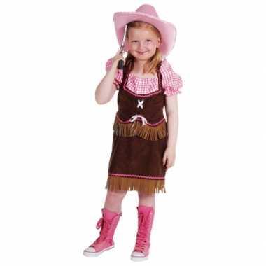 Cowgirl verkleedkledings meiden