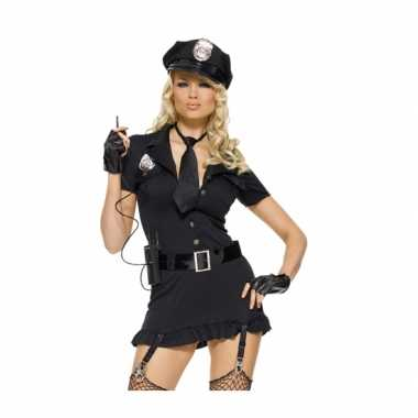 Dames verkleedkleding set sexy politie