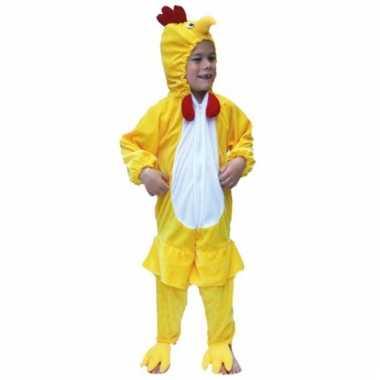 Dieren verkleedkleding kip voor kids