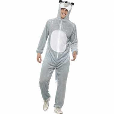 Dieren verkleedkledings wolf