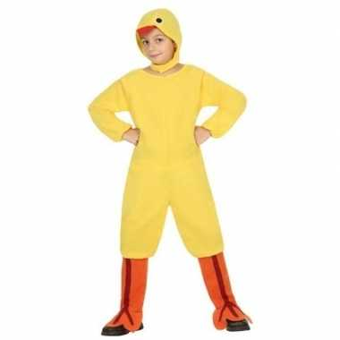 Dierenpak kip/kuiken/haan verkleed verkleedkleding voor kinderen