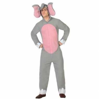 Dierenpak olifant verkleed verkleedkleding voor volwassenen