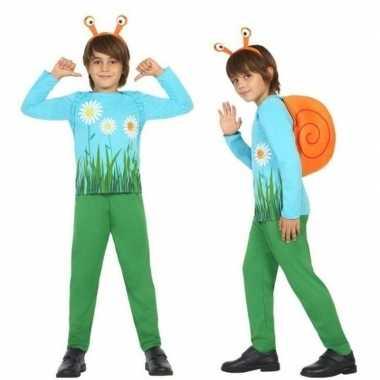 Dierenpak slak/slakken verkleed verkleedkleding voor jongens