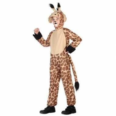 Dierenpak verkleed verkleedkleding giraffe voor kinderen