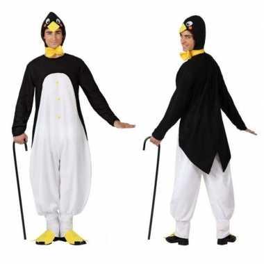Dierenpak verkleed verkleedkleding pinguin voor volwassenen