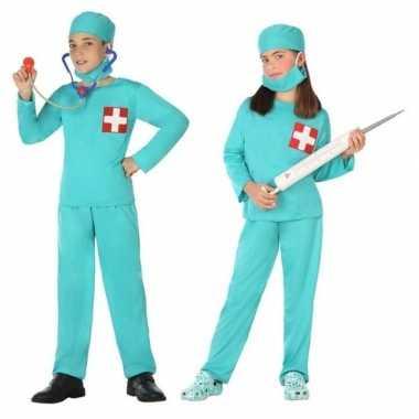 Dokter/chirurg verkleed verkleedkleding voor jongens en meisjes