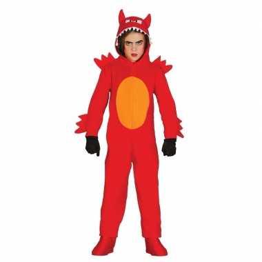 Duivel monster verkleedkleding voor kinderen