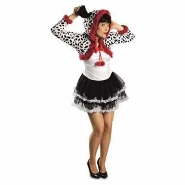 Feest dalmatier hond verkleedverkleedkleding voor dames
