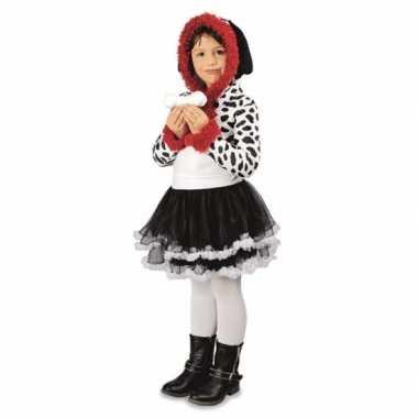 Feest dalmatier hond verkleedverkleedkleding voor meisjes