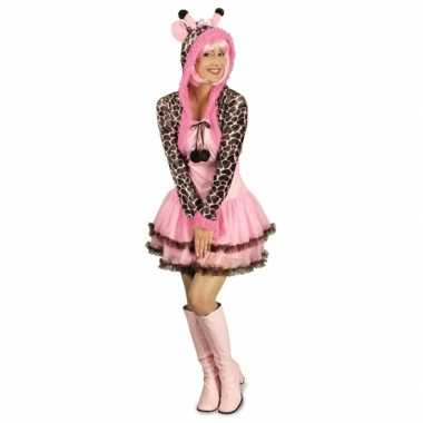Feest giraffe verkleedverkleedkleding voor dames