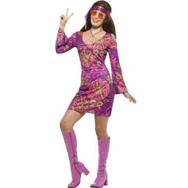 Feest hippie verkleedverkleedkleding voor dames