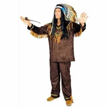 Feest indianen verkleedverkleedkleding voor heren