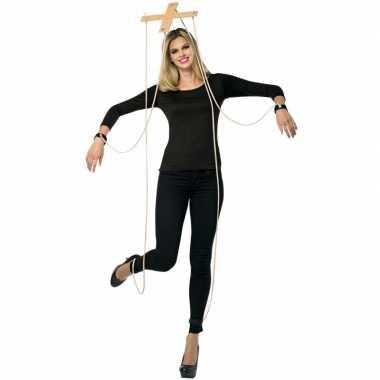 Feest marionette verkleedverkleedkleding kruis