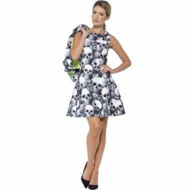Feest skelet verkleedverkleedkleding voor dames