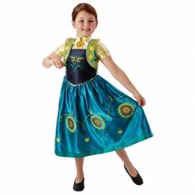 Feest verkleedkleding anna frozen voor meisjes
