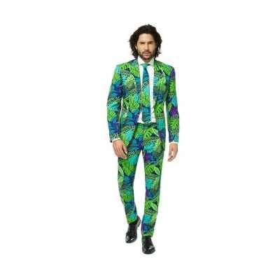 Feest verkleedkleding met jungle print