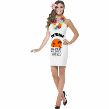 Fun verkleedkleding dames peekabu