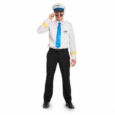 Funny piloot verkleedkleding voor heren