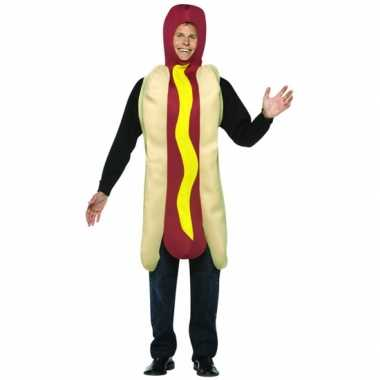 Funny verkleedkleding hot dog