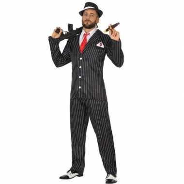 Gangster verkleed verkleedkleding voor heren