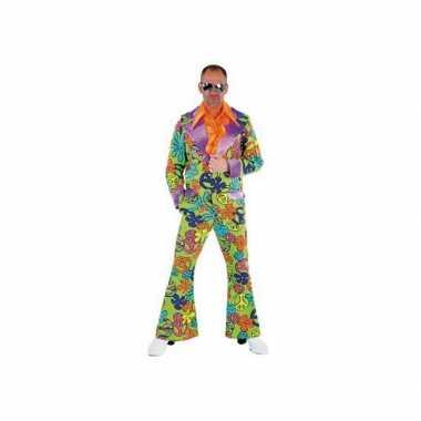 Gekleurd jaren zeventig verkleedkleding