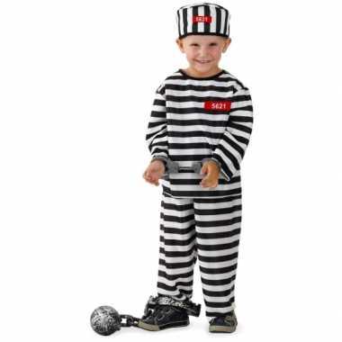 Gevangene verkleedkleding voor jongens