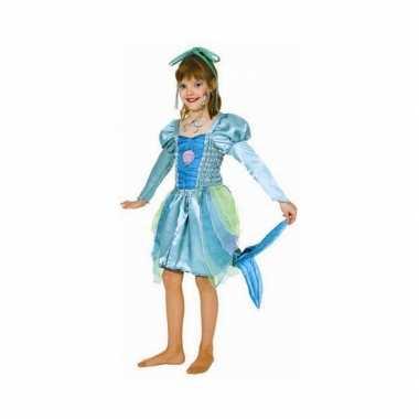 Groen zeemeermin verkleedkleding voor meisjes