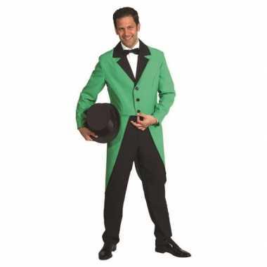 Groene verkleedkleding slipjas