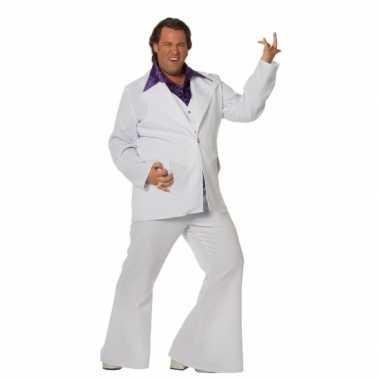 Grote maat disco verkleedkleding voor mannen
