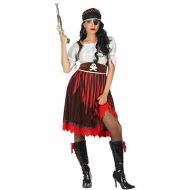 Grote maat piraat rachel verkleed pak/verkleedkleding voor dames