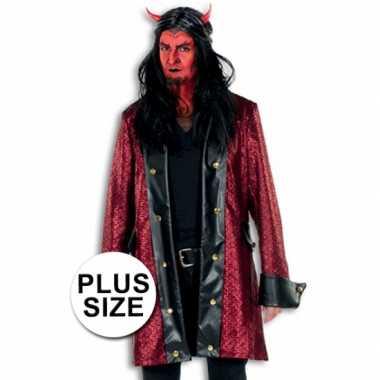 Grote maten verkleed verkleedkleding duivel