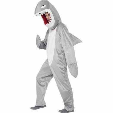 Haaien verkleedkleding pak voor volwassenen