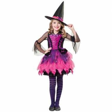 Halloween barbie heksen verkleedkleding voor meisjes