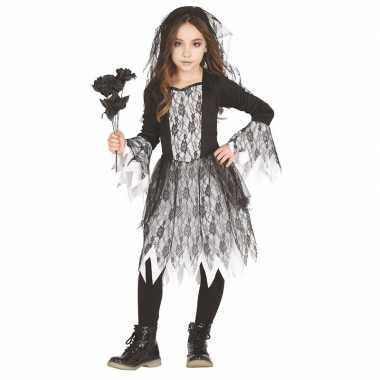 Halloween bruid verkleedkleding voor meisjes