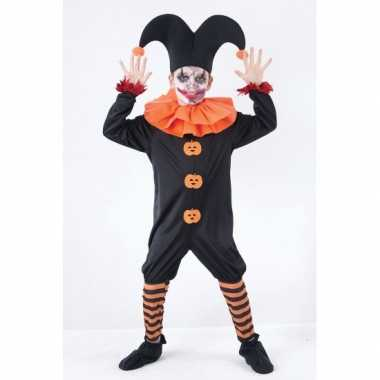 Halloween harlekijn verkleedkleding voor kids