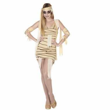 Halloween mummie verkleedkleding dames