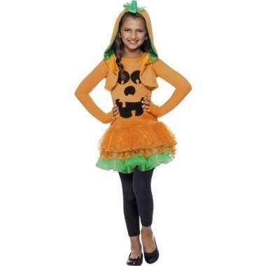 Halloween pompoen verkleedkleding voor meisjes