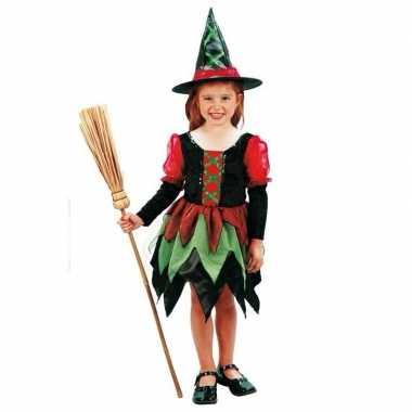 Heksen verkleedkleding meisje