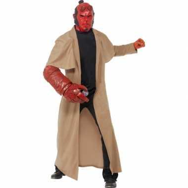 Hellboy verkleedkleding 4 delig