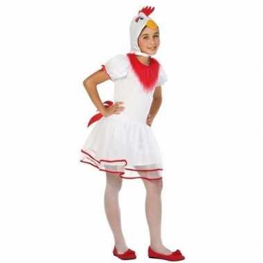 Hen/kip pok verkleedkleding voor meisjes