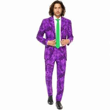 Heren verkleed pak/verkleedkleding the joker uit batman