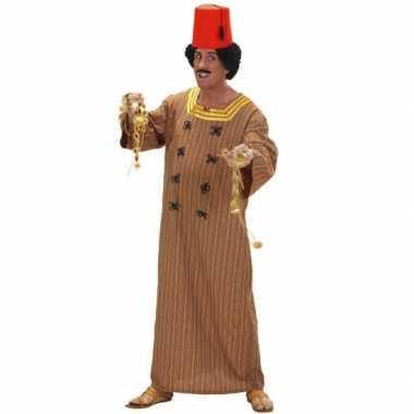 Heren verkleedkleding marrokaans bruin