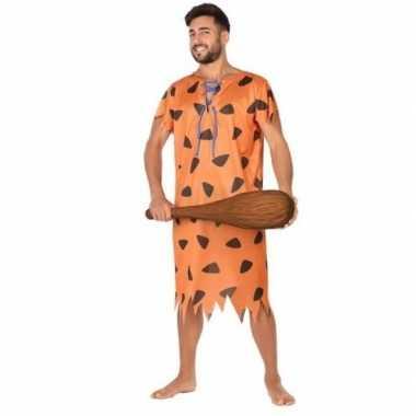 Holbewoner/caveman fred verkleed verkleedkleding voor heren
