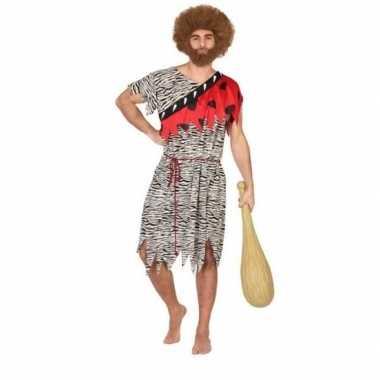 Holbewoner/caveman thag verkleed verkleedkleding heren