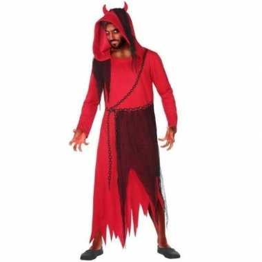 Horror duivel/kwelgeest verkleed verkleedkleding voor heren