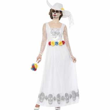 Horror verkleedkleding bruidsjurk