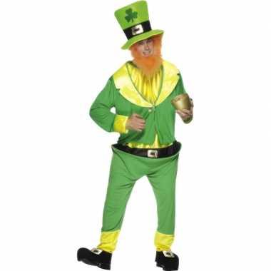 Ierse dwerg verkleedkleding groen