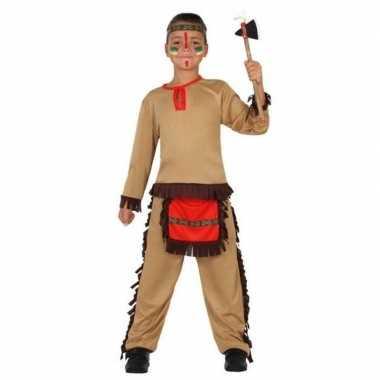 Indiaan/indianen pak/verkleed verkleedkleding voor jongens